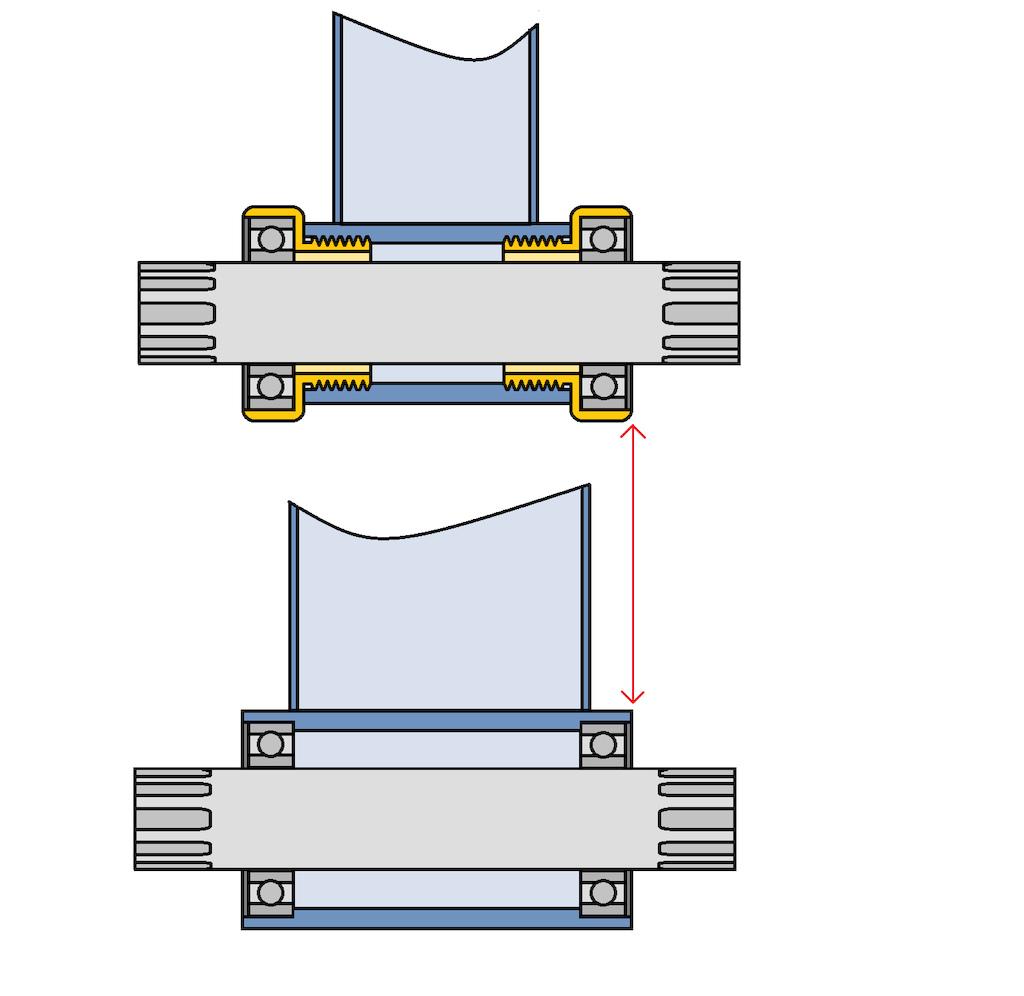 hight resolution of pressfit vs threaded bottom brackets