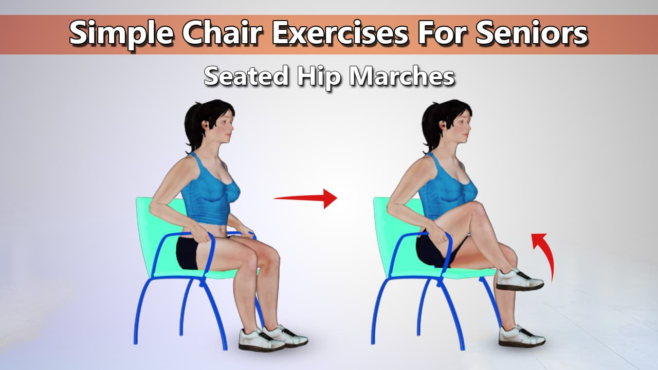 Chair Exercise 14 Simple Chair Exercises For Seniors