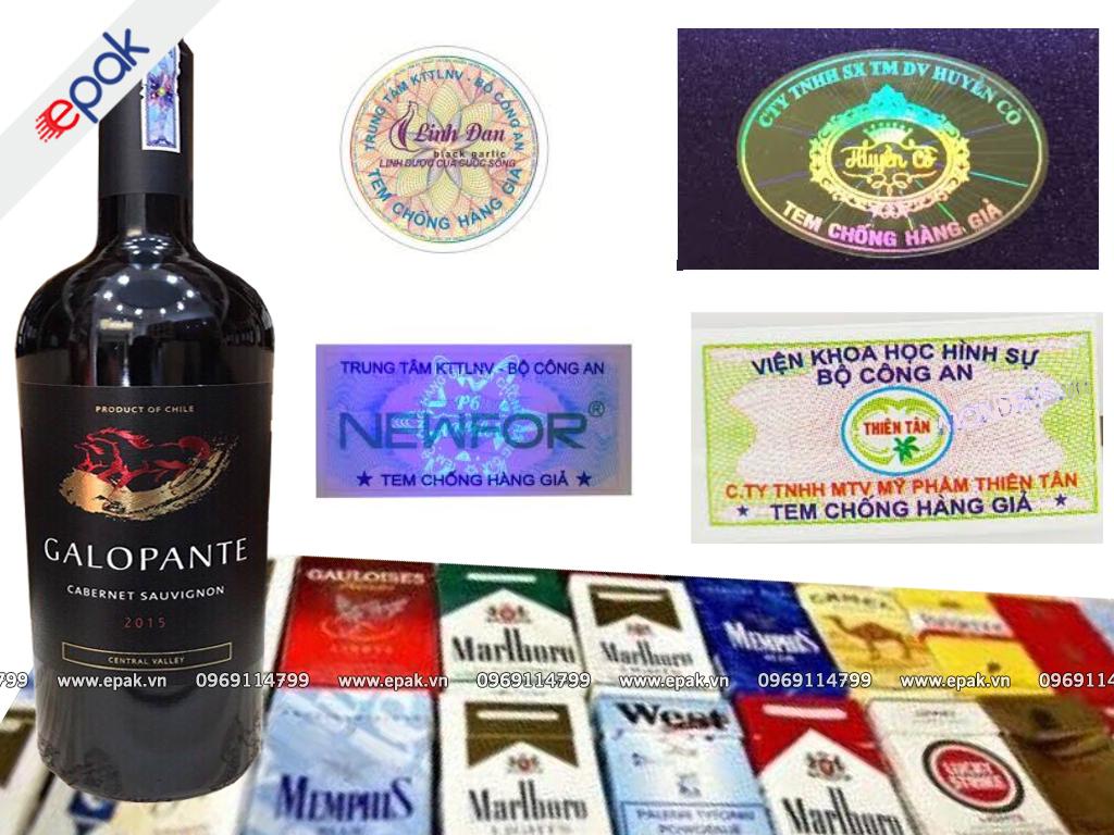 Quy định dán tem điện tử cho rượu và thuốc lá