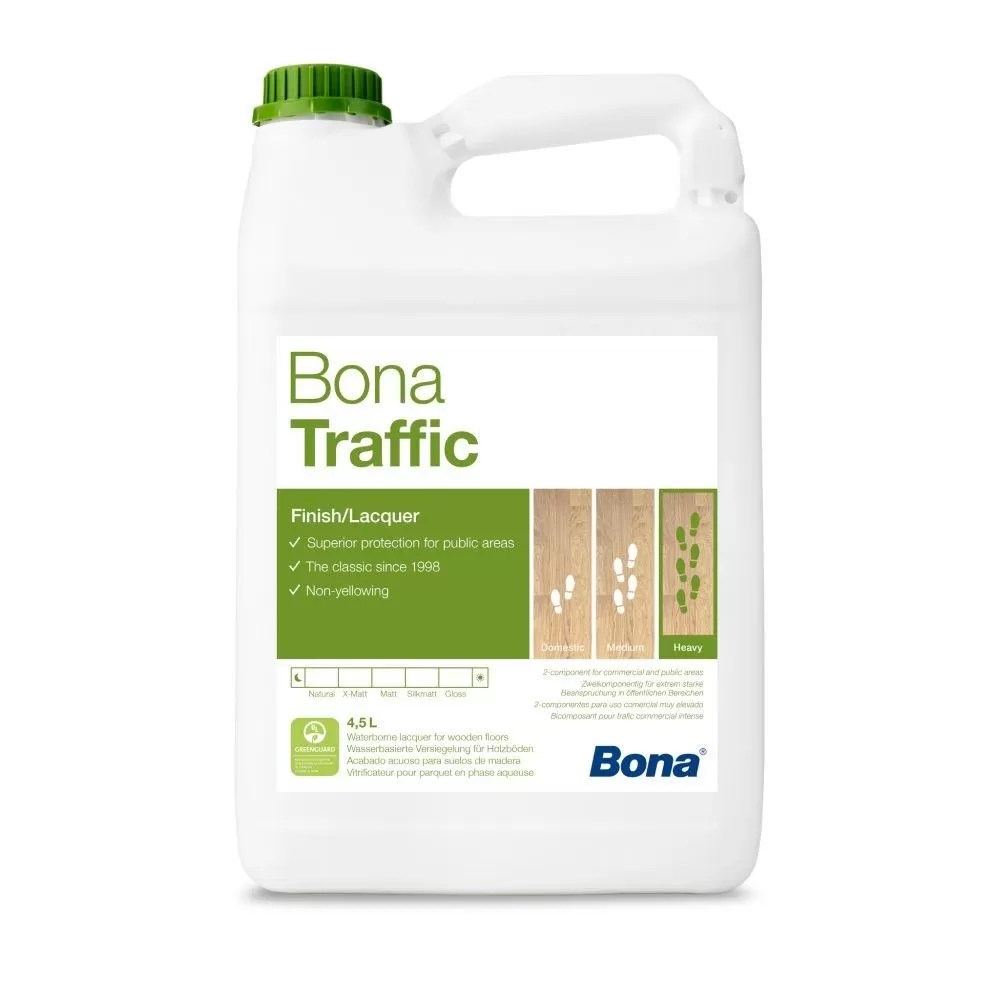 Lac parchet Traffic Satinat 4.95L Bona