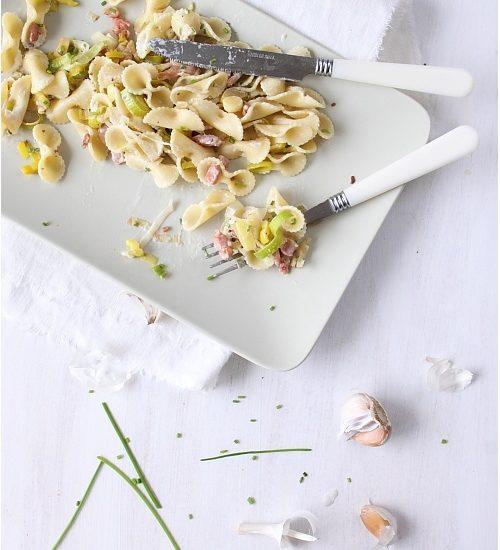 pates aux poireaux,recettes