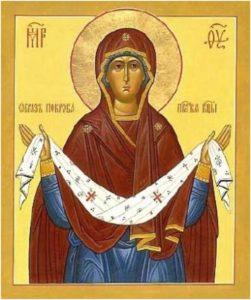 Икона Покров- сайт Церковный праздник сегодня