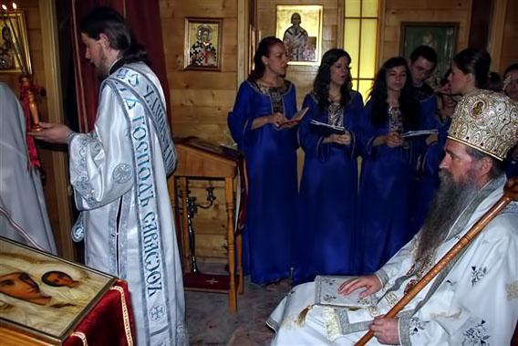 Дом Божији подижемо вјером, љубављу и жртвом, а храм своје душе у Цркви и на молитви