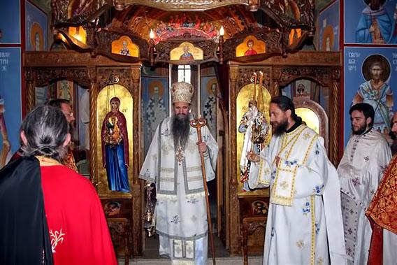 Поводом упокојења монахиње Агније