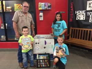 Chisum book drive going strong – still time to donate