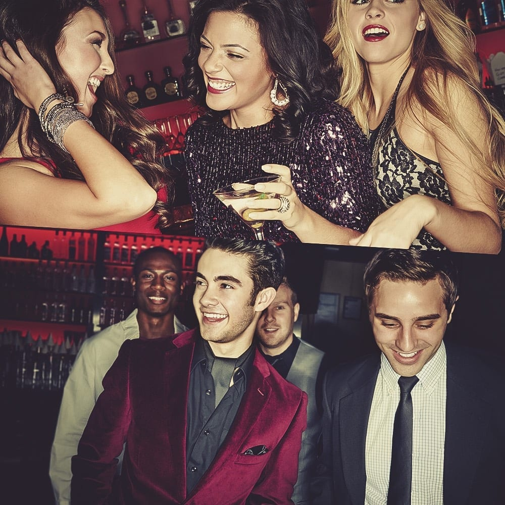 Bachelor Party • Bachelorette Party