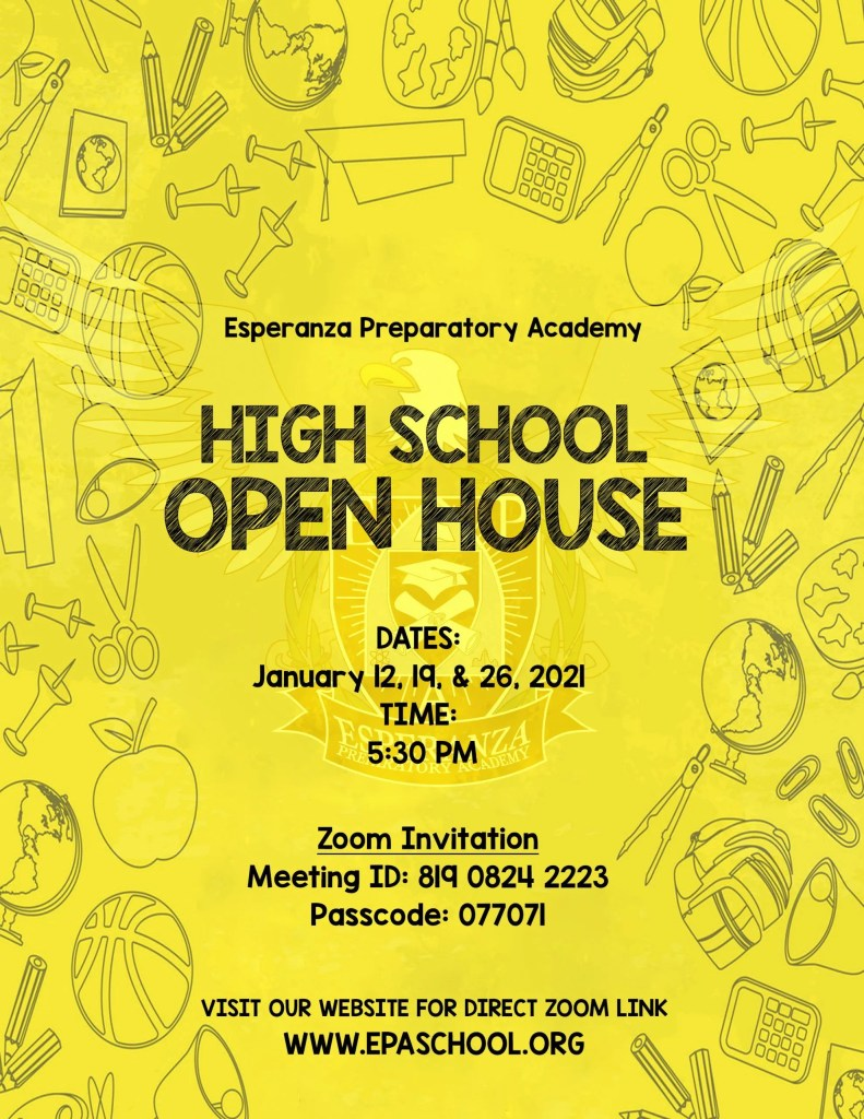 High School Open House