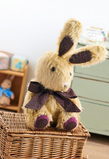 Мягкая игрушка кролик выкройка