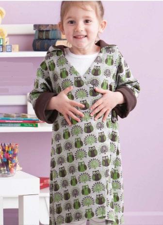 Детский банный халат бесплатгая выкройка
