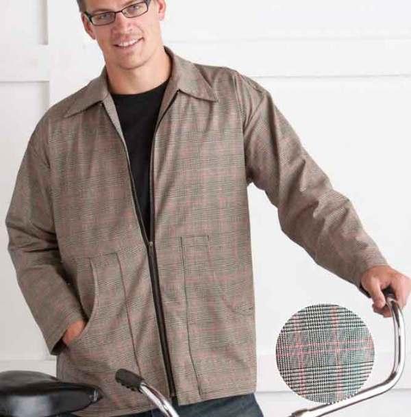 Бесплатная выкройка мужской куртки