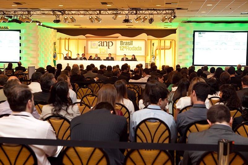 A 12a rodada da ANP foi realizada em 2013