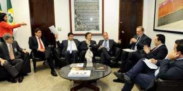 Representantes da indústria e da produção do biodiesel se reuniram nesta terça-feira (5) com senadores - Jane de Araújo/Agência Senado