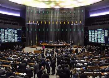 O Plenário da Câmara dos Deputados durante a votação da MP do Repetro - Luis Macedo/Câmara dos Deputados