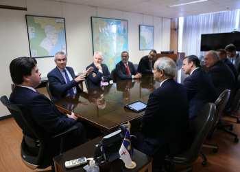 Reunião entre o ministro de Minas e Energia, Fernando Coelho Filho, e representantes do IBP - Foto: Saulo Cruz/MME