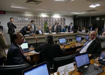 Comissão Mista da Medida Provisória (CMMPV) nº 795 de 2017, que muda tributação do setor petrolífero, realiza reunião deliberativa para apreciação de relatório. Foto: Roque de Sá/Agência Senado