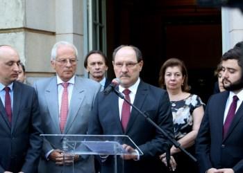O ofício foi encaminhado no dia 25 de abril pelo governador José Ivo Sartori ao presidente da Assembleia Legislativa Autor: Luiz Chaves/Palácio Piratini