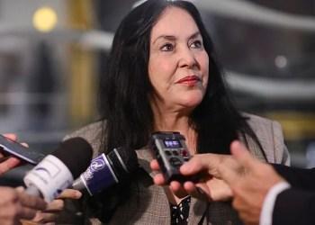 A senadora Rose de Freitas (PODE/ES) é autora do projeto. Tadeu Sposito/Agência Senado