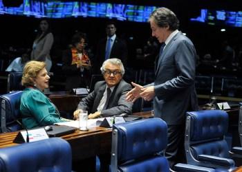 Plenário do Senado Federal ontem durante sessão deliberativa ordinária. Foto: Jonas Pereira/Agência Senado
