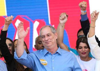 Brasília: PDT confirma Ciro Gomes como candidato à Presidência da República em  convenção nacional que reuniu filiados do partido. (Foto: Marcelo Camargo/Agência Brasil)