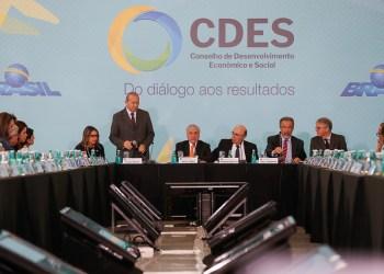 21/03/2018 47ª Reunião do Conselho de Desenvolvimento Econômico e Social - CDES Foto: Beto Barata/PR