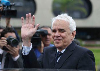 O economista Roberto Castello Branco, indicado para presidente da Petrobras, no Centro Cultural Banco do Brasil (CCBB), em Brasília, onde funciona o gabinete do governo de transição. Foto: José Cruz/Agência Brasil