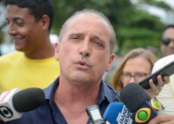 O deputado federal e futuro ministro da Casa Civil, Onyx Lorenzoni - Tomaz Silva/Agência Brasil