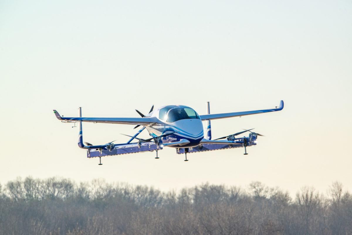 Resultado de imagem para Carro elétrico voador da Boeing faz primeiro voo