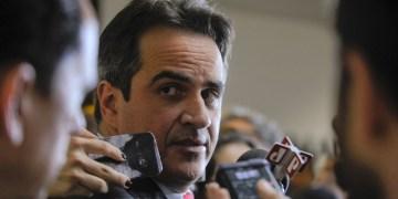 Senador Ciro Nogueira (PP-PI) concede entrevista à imprensa nas dependências do Senado Federal. Foto: Moreira Mariz/Agência Senado