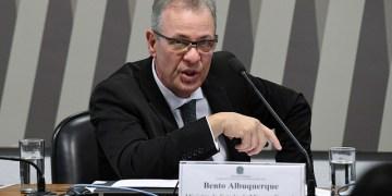 O ministro de Minas e Energia Bento Albuquerque em audiência pública no Senado / Foto: Agência Senado