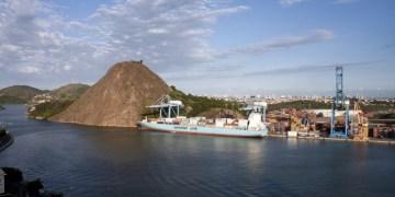 Porto de Vitória é uma das quatro instalaçoes portuárias hoje administradas pela Codesa / Foto: EBC