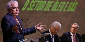 """O presidente da Petrobras, Roberto Castello Branco, fala no Seminário """"A Nova Economia Liberal"""", na Fundação Getúlio Vargas (FGV), no Rio de Janeiro."""