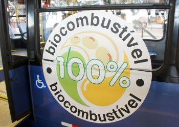 Biodiesel bus Linha Verde Curitiba BRT 05 2013