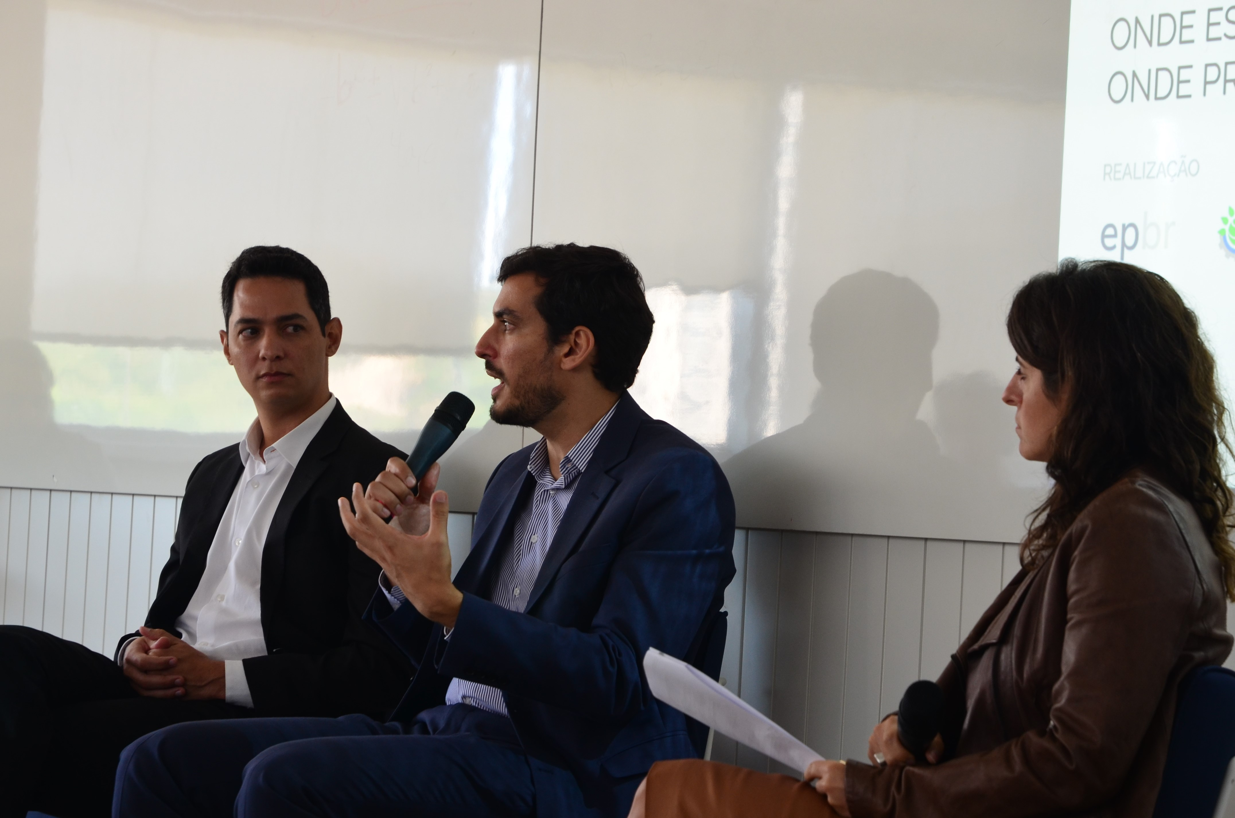 Ana Carolina Szklo, Diretora de Desenvolvimento Institucional (CEBDS) Luciano Vilas Boas Jr., representante da CDGN Logística Thiago Barral, presidente da Empresa de Pesquisa Energética (EPE)