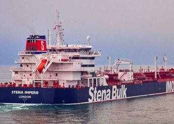 O navio-tanque Stena Imperor / Foto: divulgação Stena Bulk