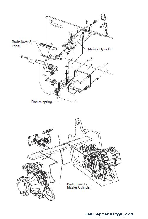 Clark Forklift Brake Diagram : clark, forklift, brake, diagram, Clark, Forklift, 20/25/30s/30/32, Service, Manual, Download
