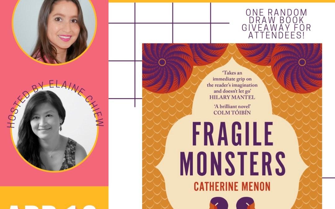 Catherine Menon: Fragile Monsters (booksbualbual)
