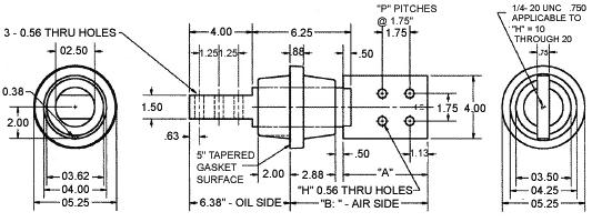 1004 Series Transformer Mounted Secondary LV Bushings 1.2