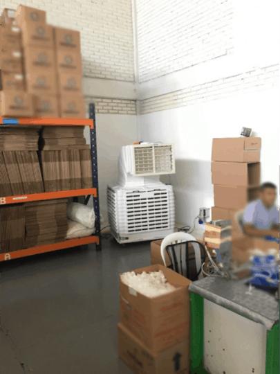 enfriador evaporativo industrial bodega 2