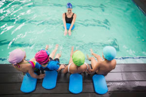 Scholarships for after-school activities such as swimming lessons is part of our Youth Initiative.