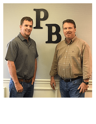 Scott Lehner and Jason Ronk of Perfection Builders, an Epcon Franchise Builder