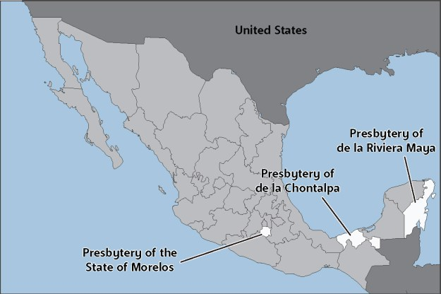 mexicopresbyterymap