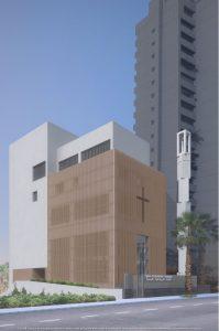 Futur temple de l'EPFB