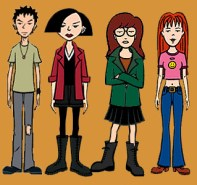 daria, 90s shows, angsty 90's Halloween costumes