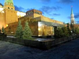 Moskova, punainen tori, Leninin hautamausoleumi