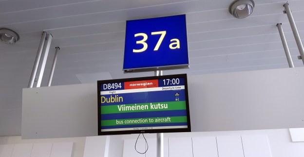 Lähtö koittaa Helsingissä