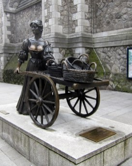 Molly Malonen patsas, Dublin