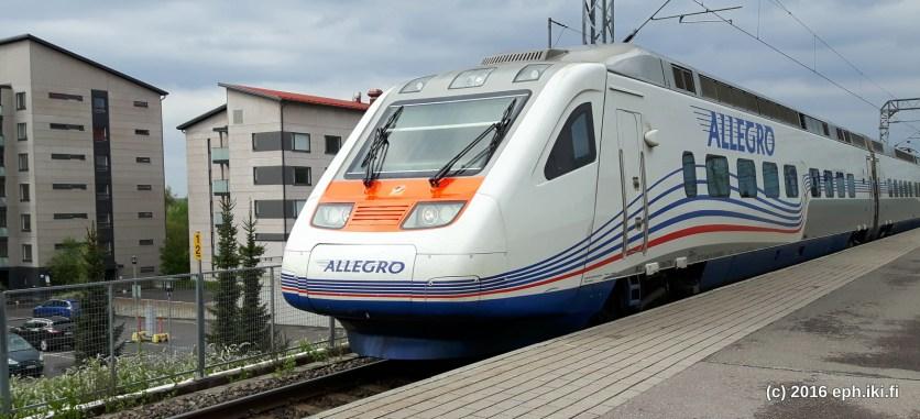 Allegrolla mentiin