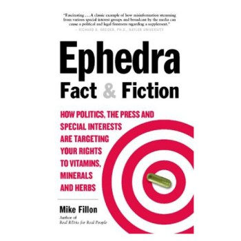 Ephedra Fact & Fiction Book
