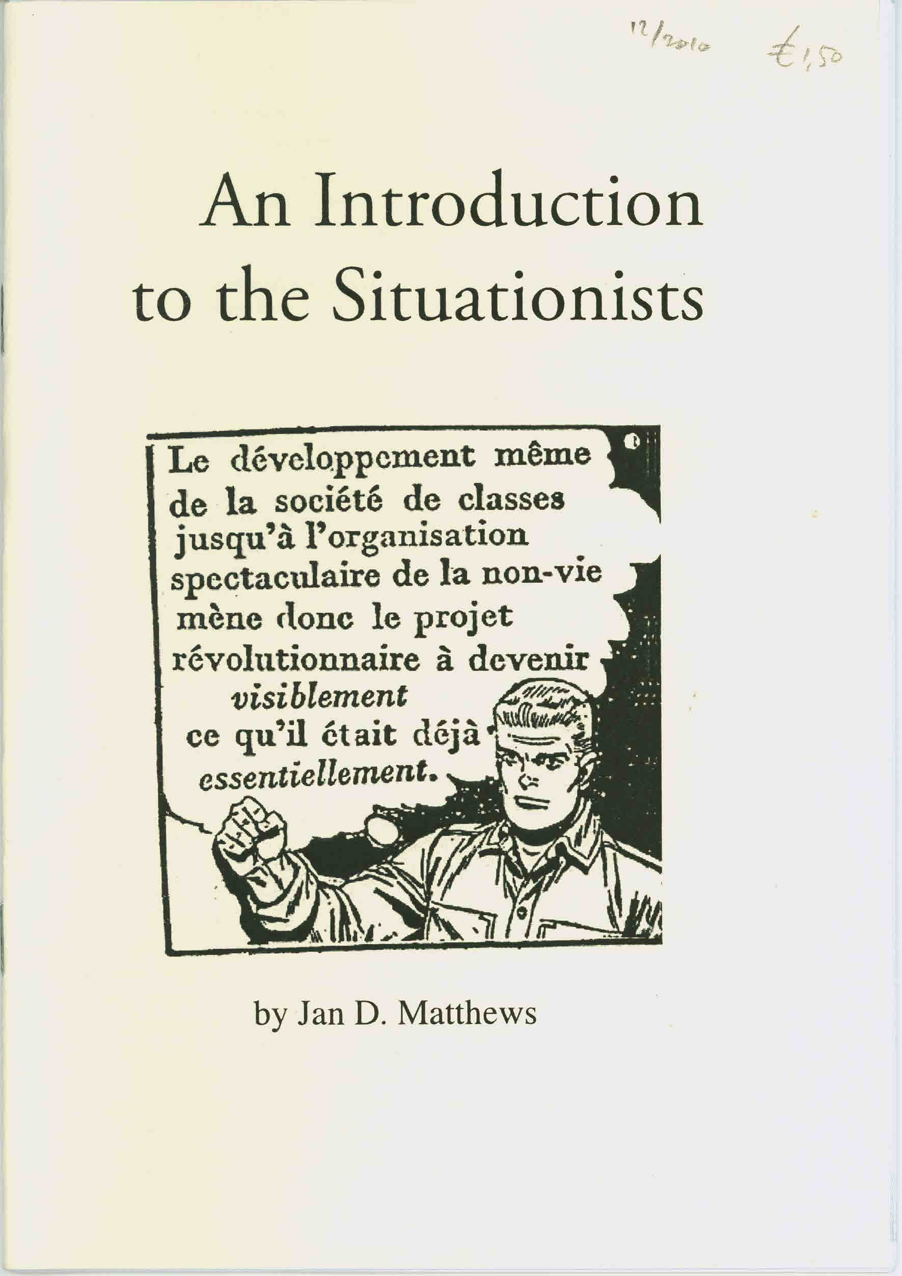 An Introduction to the Situationists