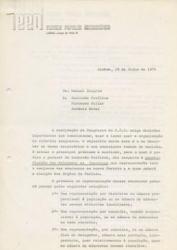 PPDdeMANUEL_ALEGRIA_A_COMISSAO_POLITICA_LX18JUL74_BR
